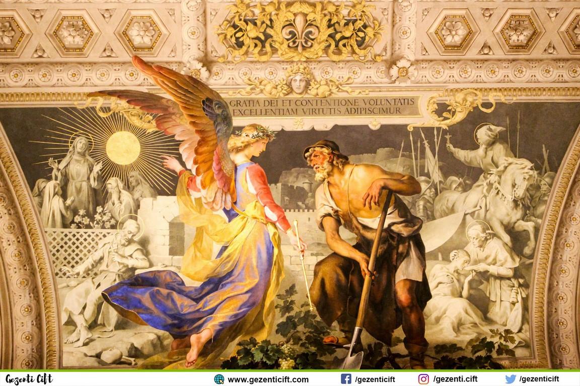 Vatikan Müzesi - Tavan Eserleri