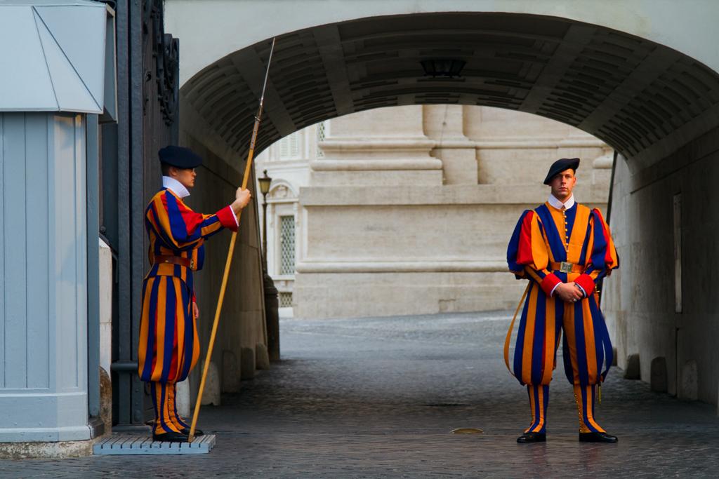 Vatikan - İsviçreli Muhafızlar