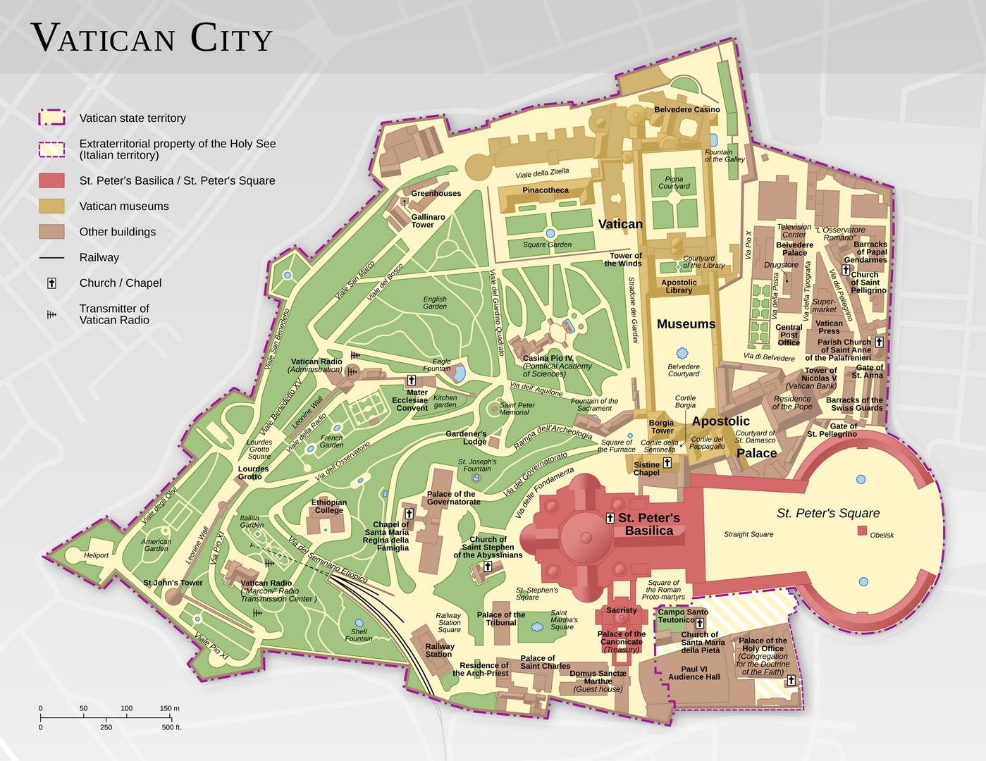 Vatikan Haritası