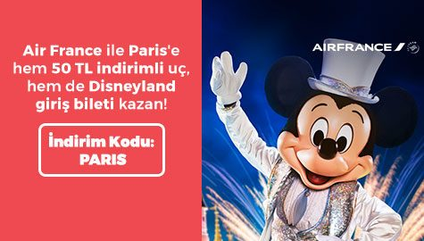 Ücretsiz Disneyland Giriş Bileti